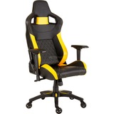 Corsair T1 Race Siège de jeu sur PC Black, Yellow, Siège Gaming
