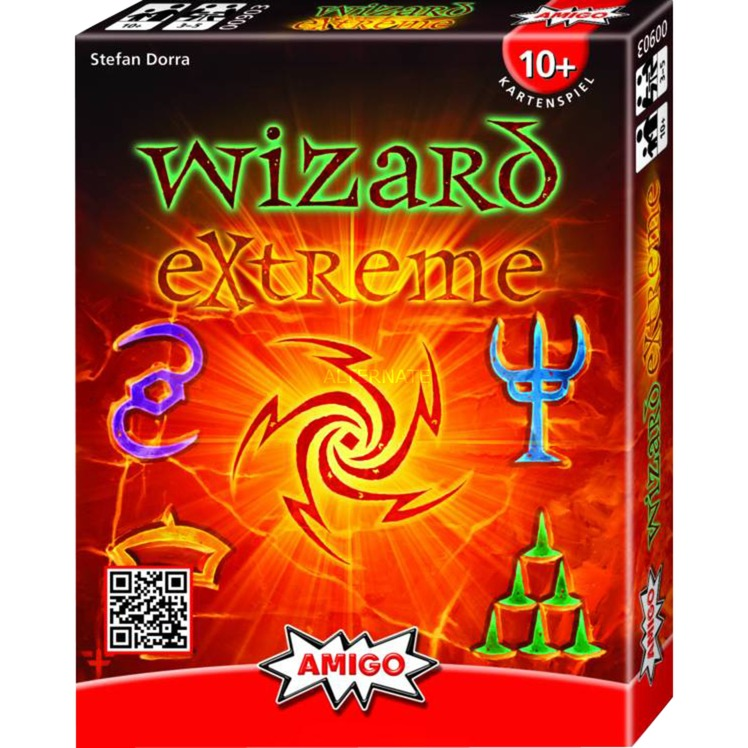 Wizard Extreme, Jeu de cartes