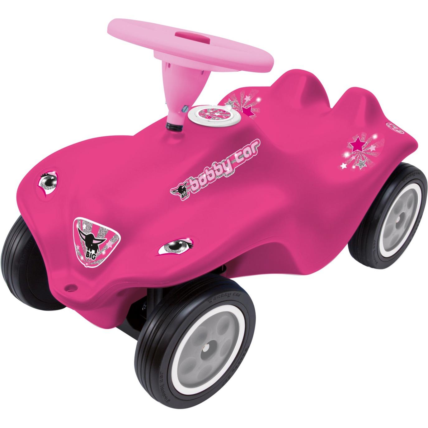New Bobby Car Rockstar Girl, Toboggan
