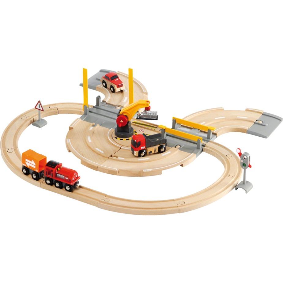 Circuit Transfert de Marchandises - Rail / Route, Train