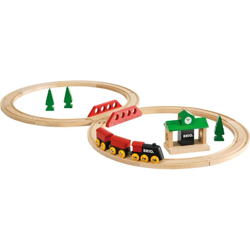Circuit en 8 Tradition, Train