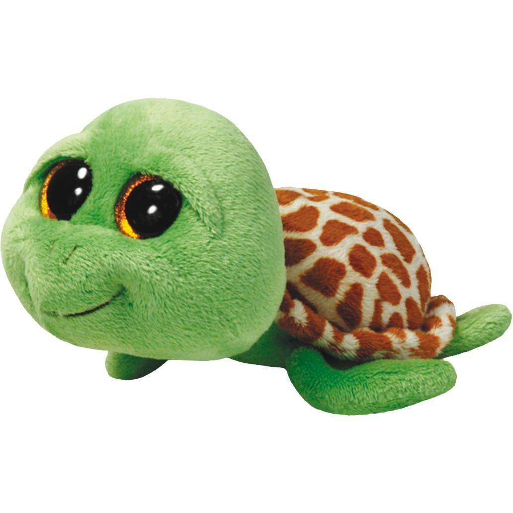 Zippy - green turtle Tortue Marron, Vert, Peluche