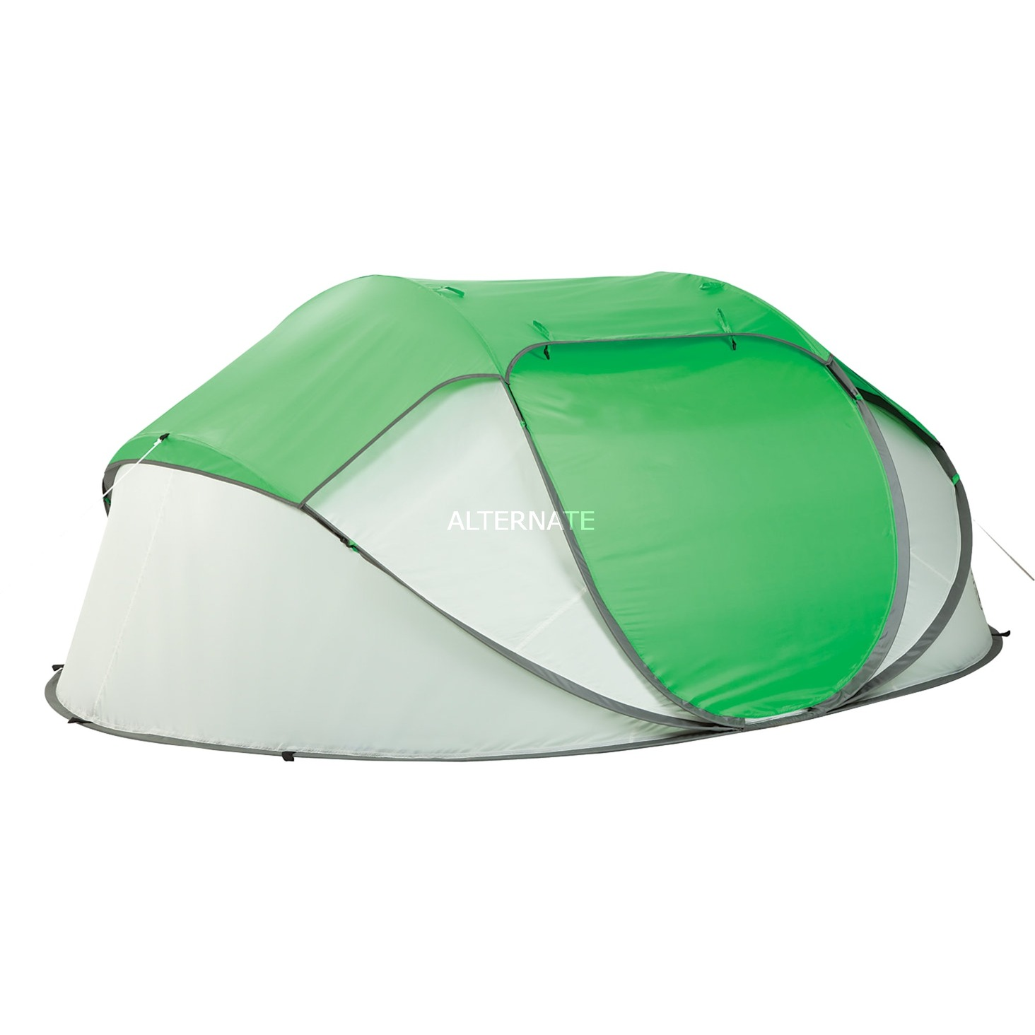 FastPitch Tente 2 secondes 4 Vert, Blanc