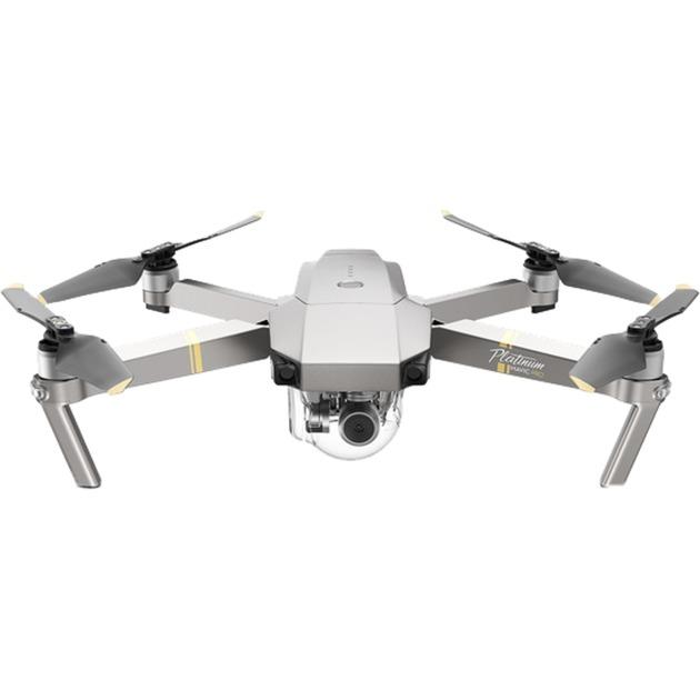 Mavic Pro Platinum Quadcoptère 12.71MP 4096 x 2160pixels 3830mAh Noir, Argent, Acier inoxydable caméra drone