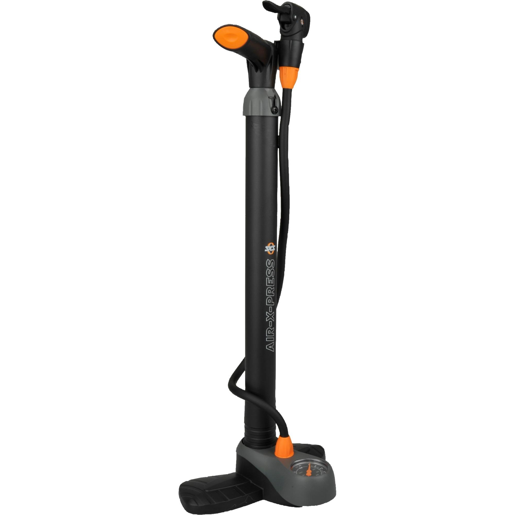 AIR-X-PRESS CONTROL Noir Pompe à pied, Pompe à air