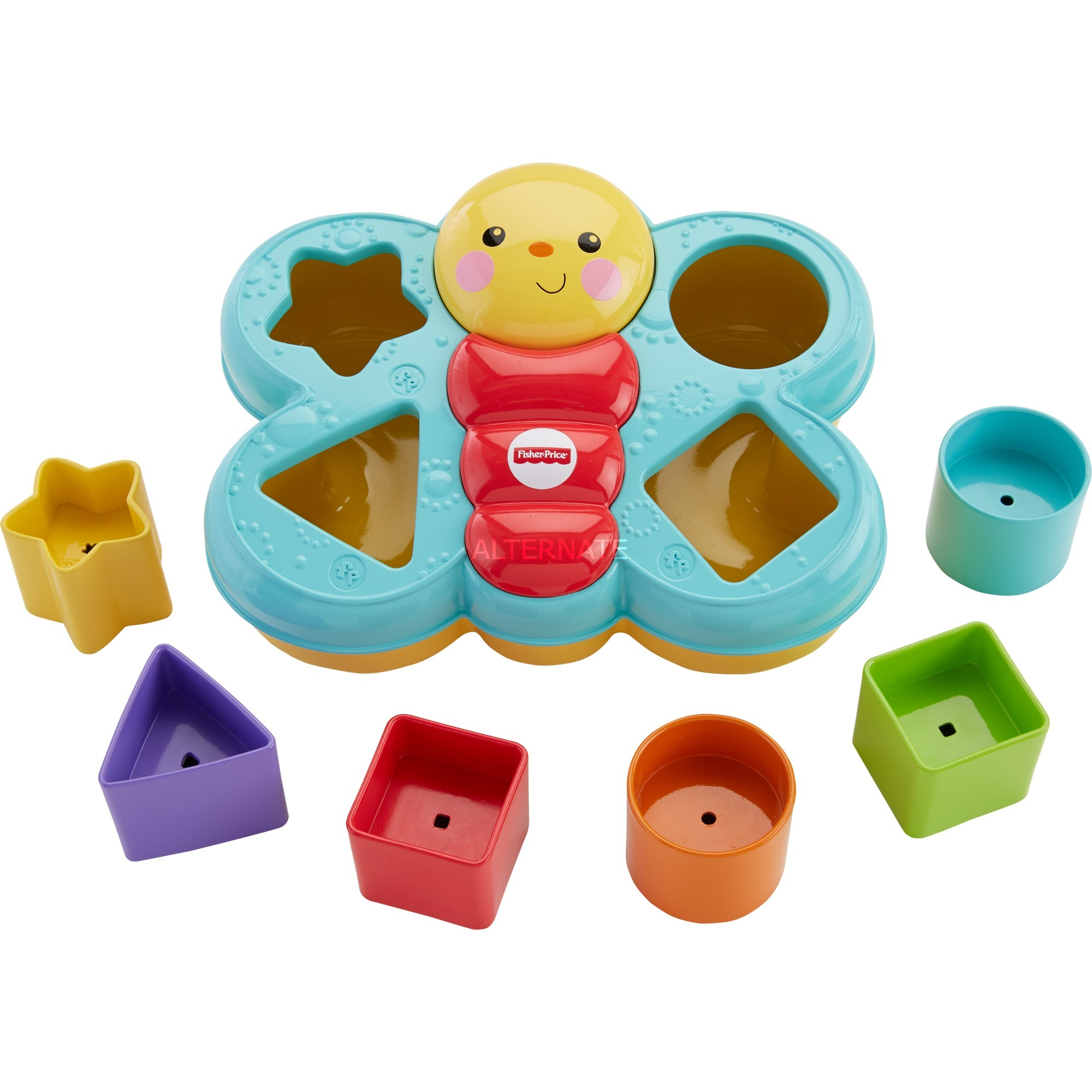 Tout pour les bébés CDC22 Multicolore Plastique jouet à moteur, Jeu d'adresse