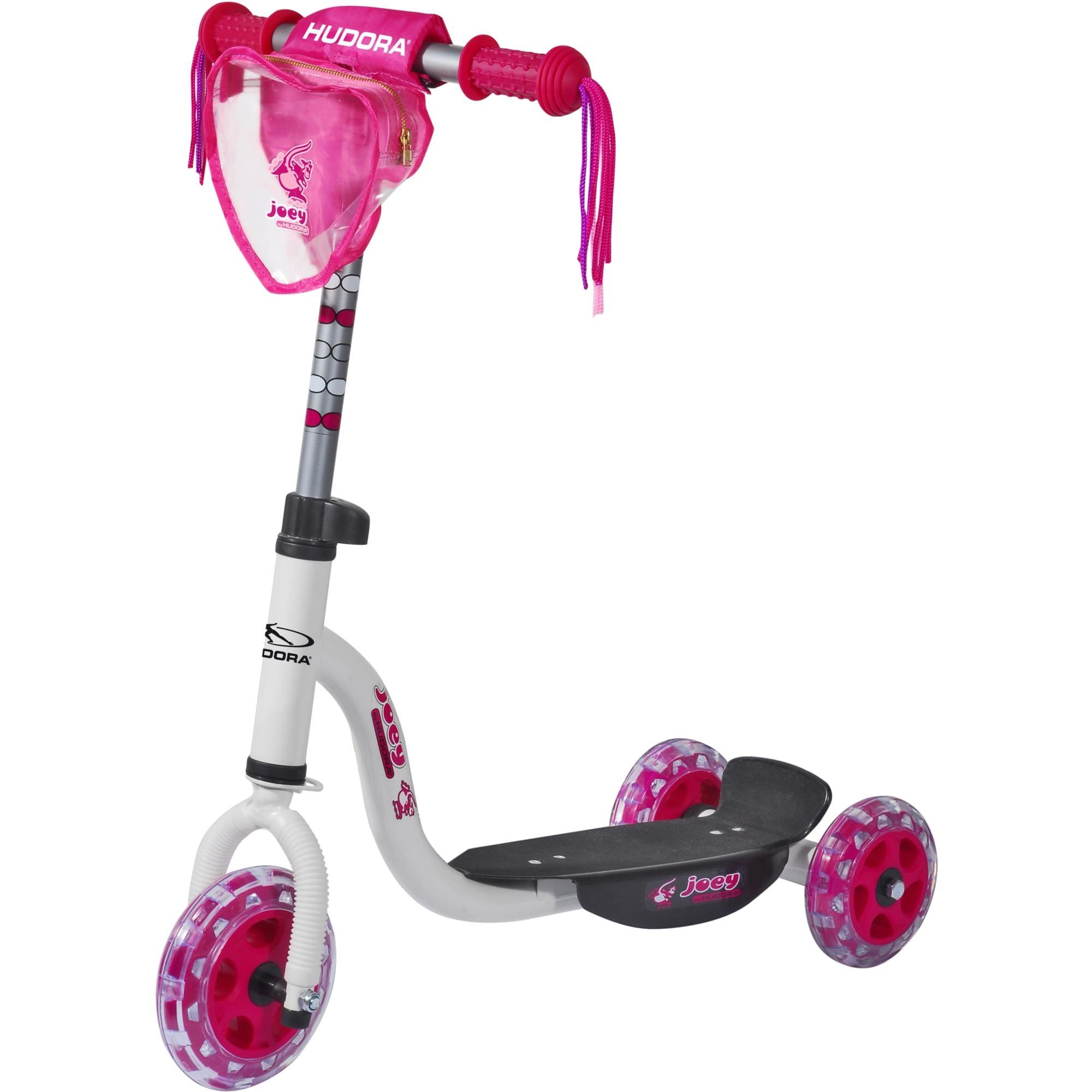 11060 Enfants Rose, Blanc scooter, Trottinette