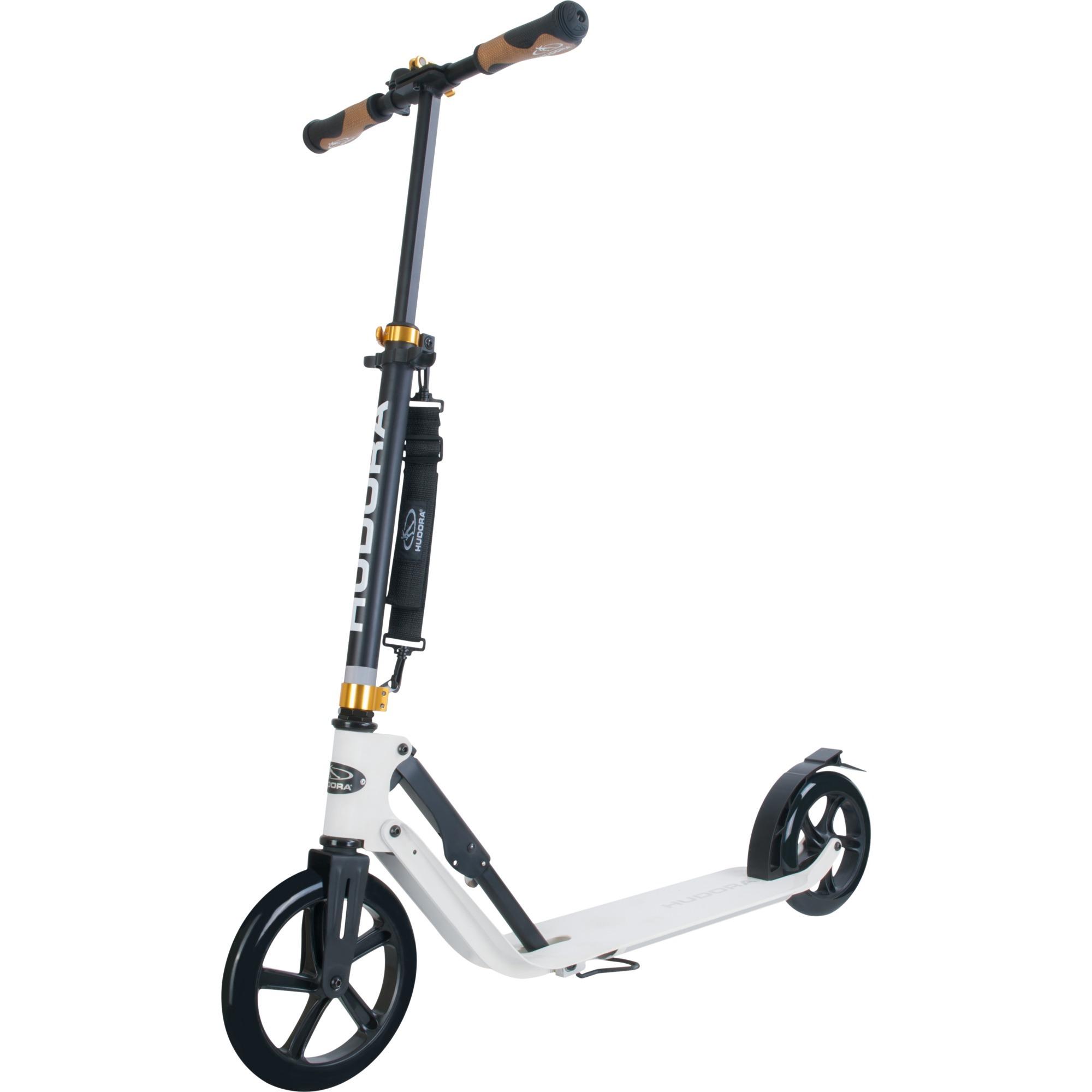 14236 Adultes Noir, Blanc scooter, Trottinette