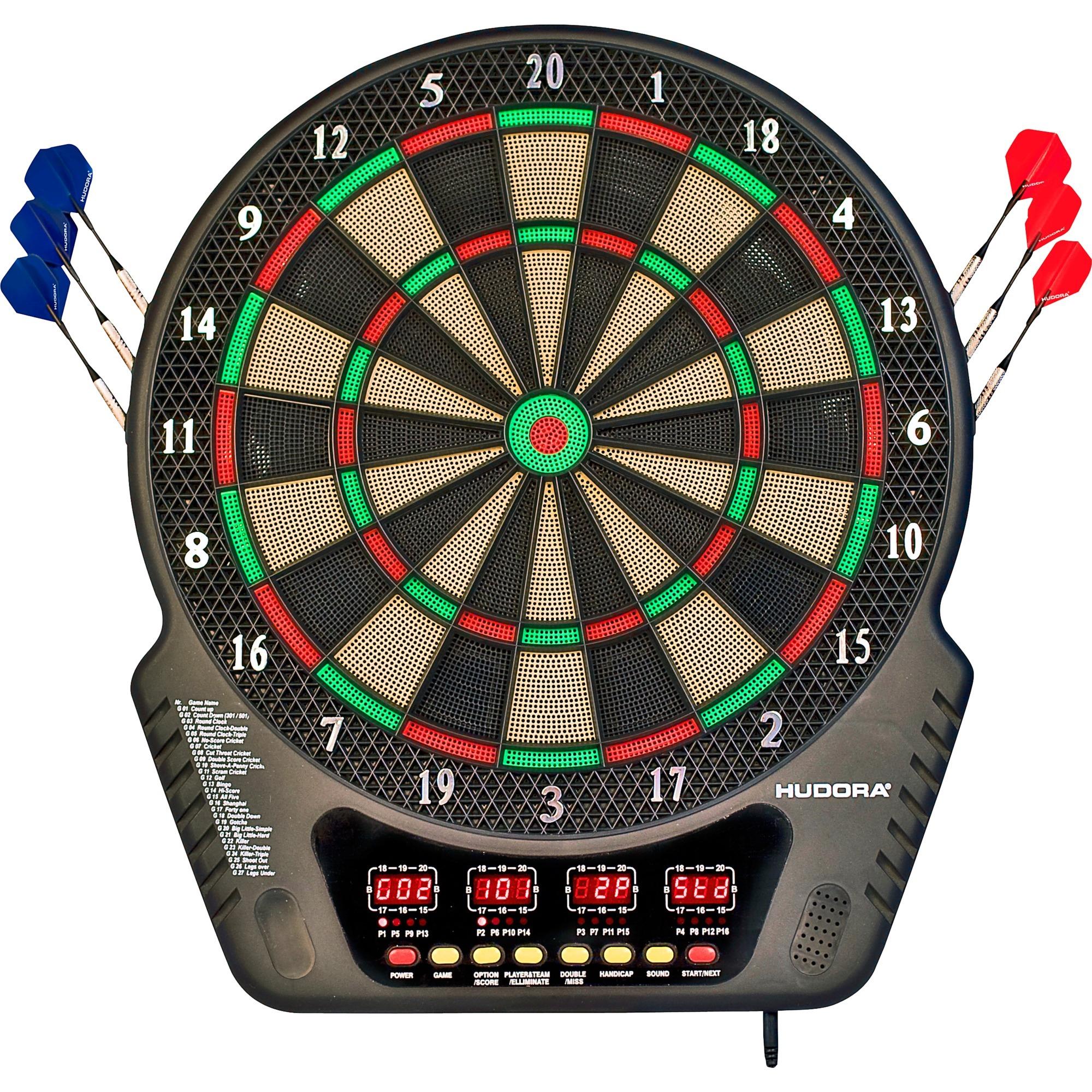 77034 Adultes Électronique jeu de fléchette, Appareil de fitness
