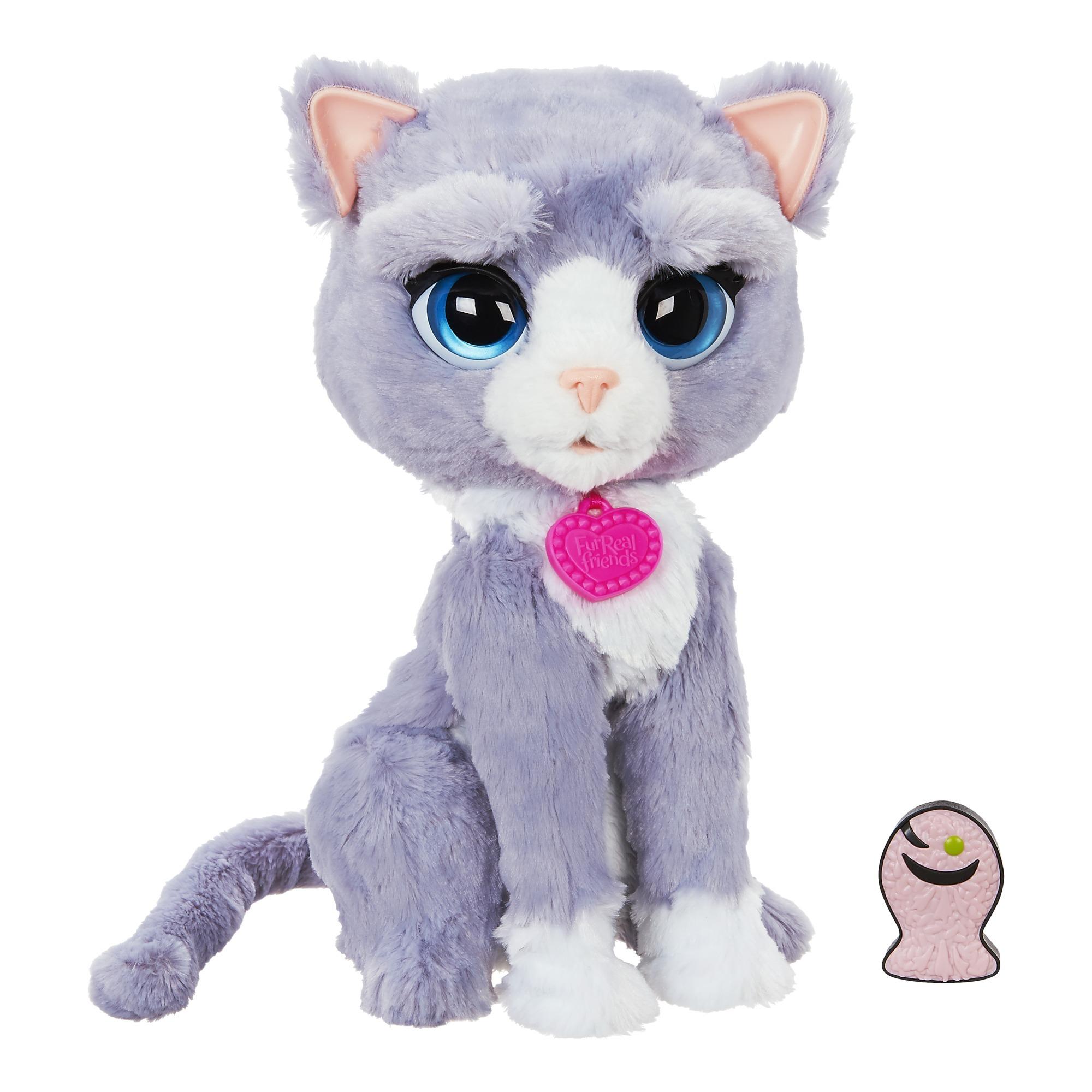 B5936EU4 Jouet chat Gris jouet en peluche