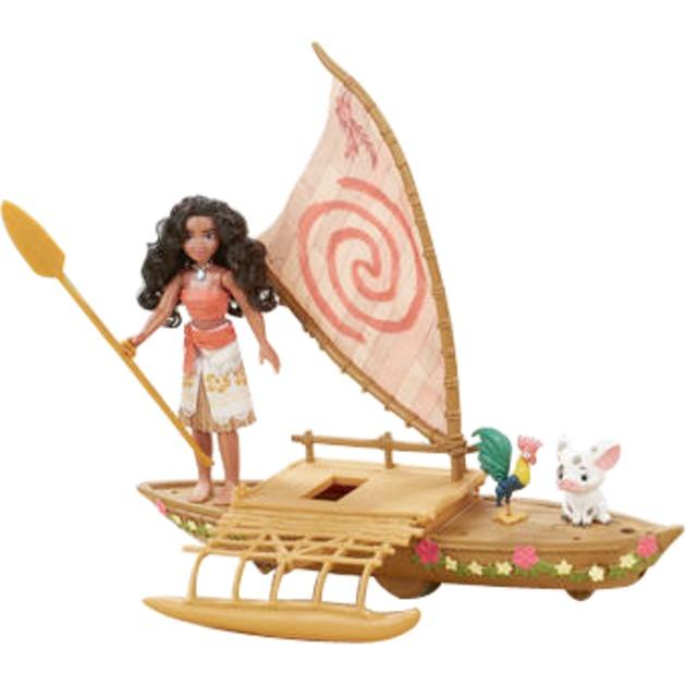 Disney Vaiana - Va En Pirogue!, Figurine