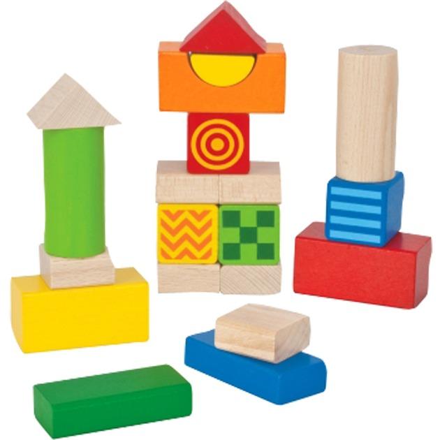 Bébé toucher et blocs de construction sonores, Jouets de construction