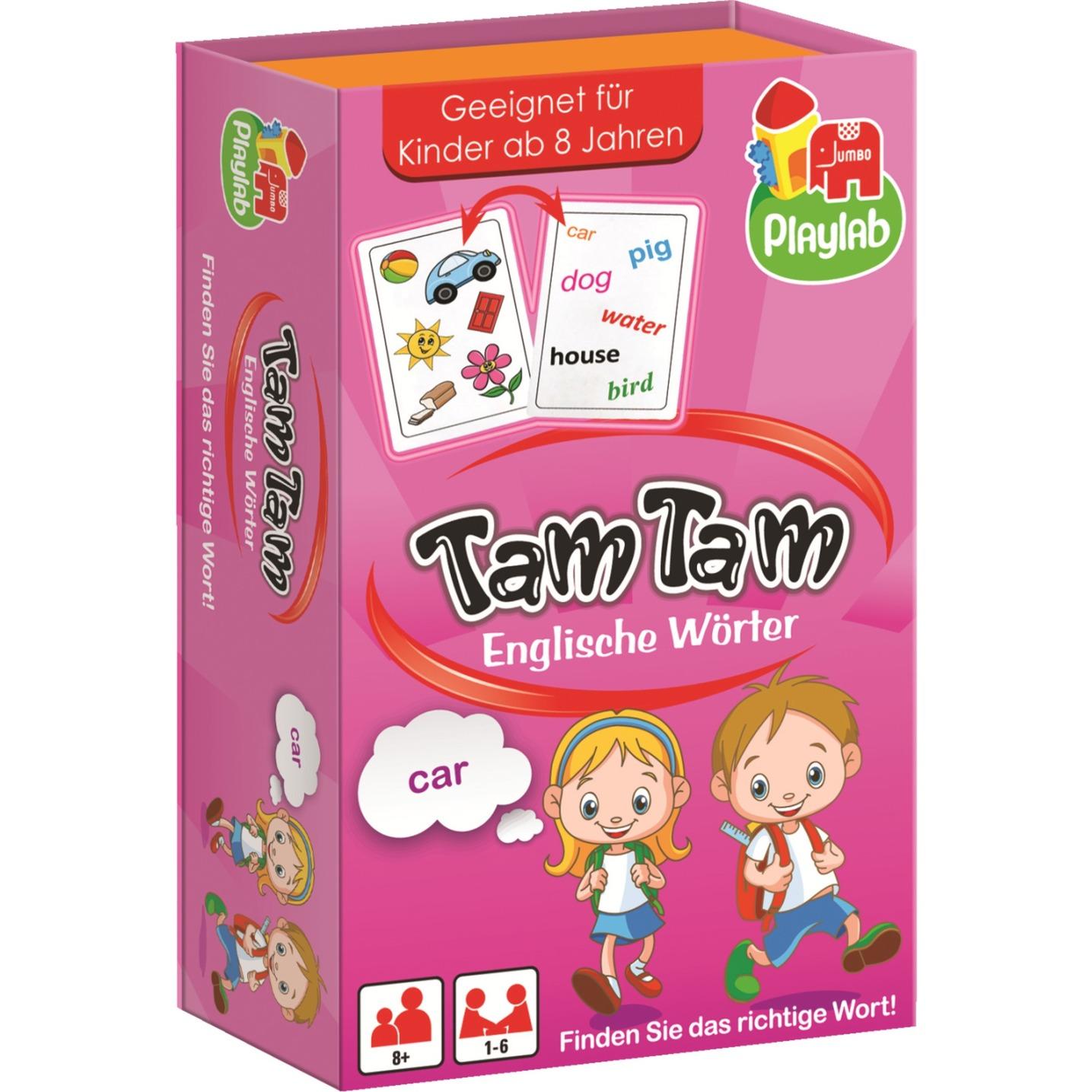 Die ersten englischen Wörter, Jeu d'apprentissage