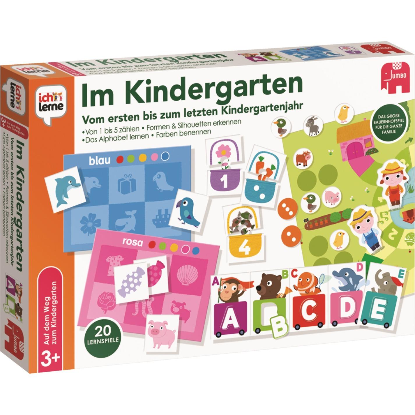 Im Kindergarten, Jeu d'apprentissage
