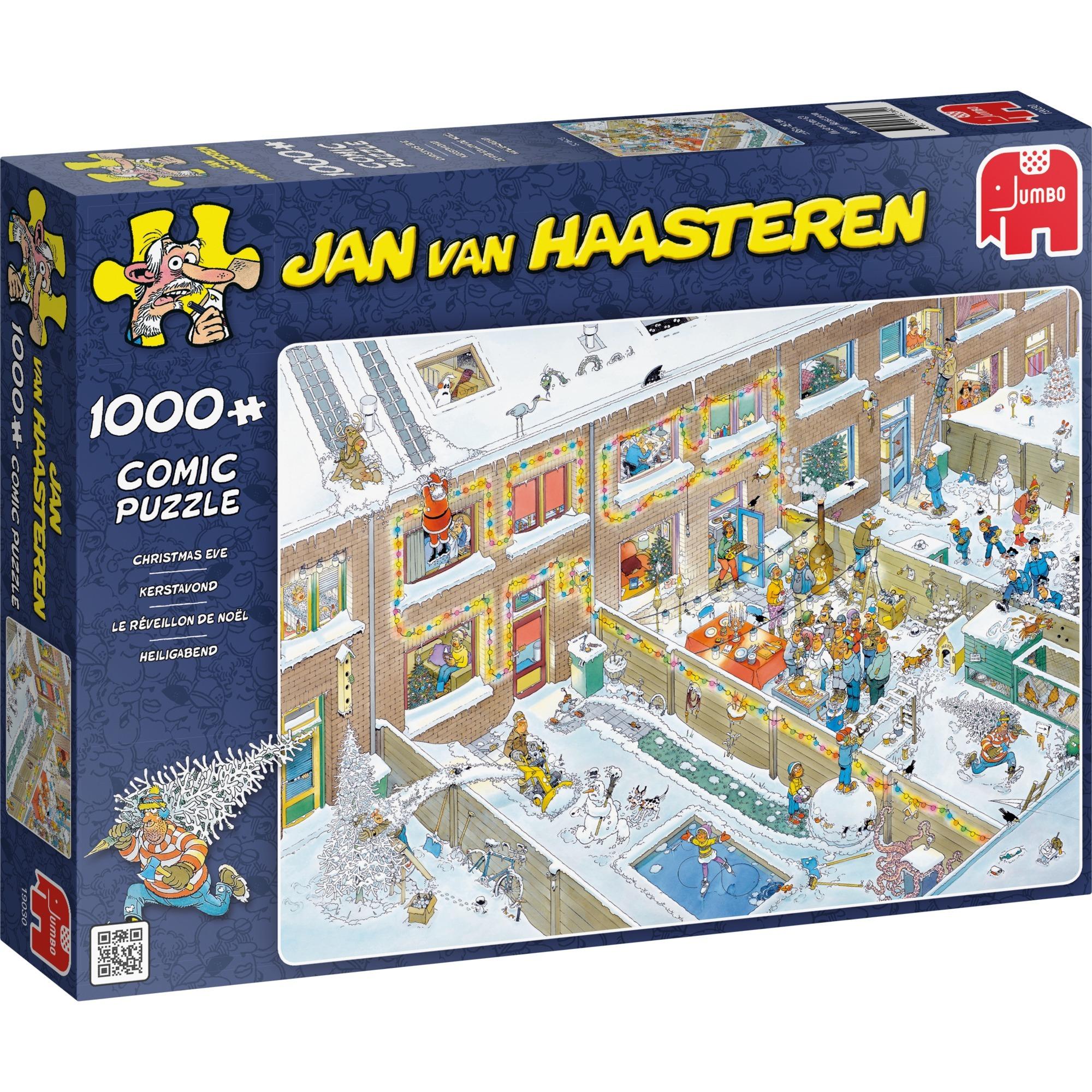 Jan van Haasteren: Le réveillon de Noël, Puzzle