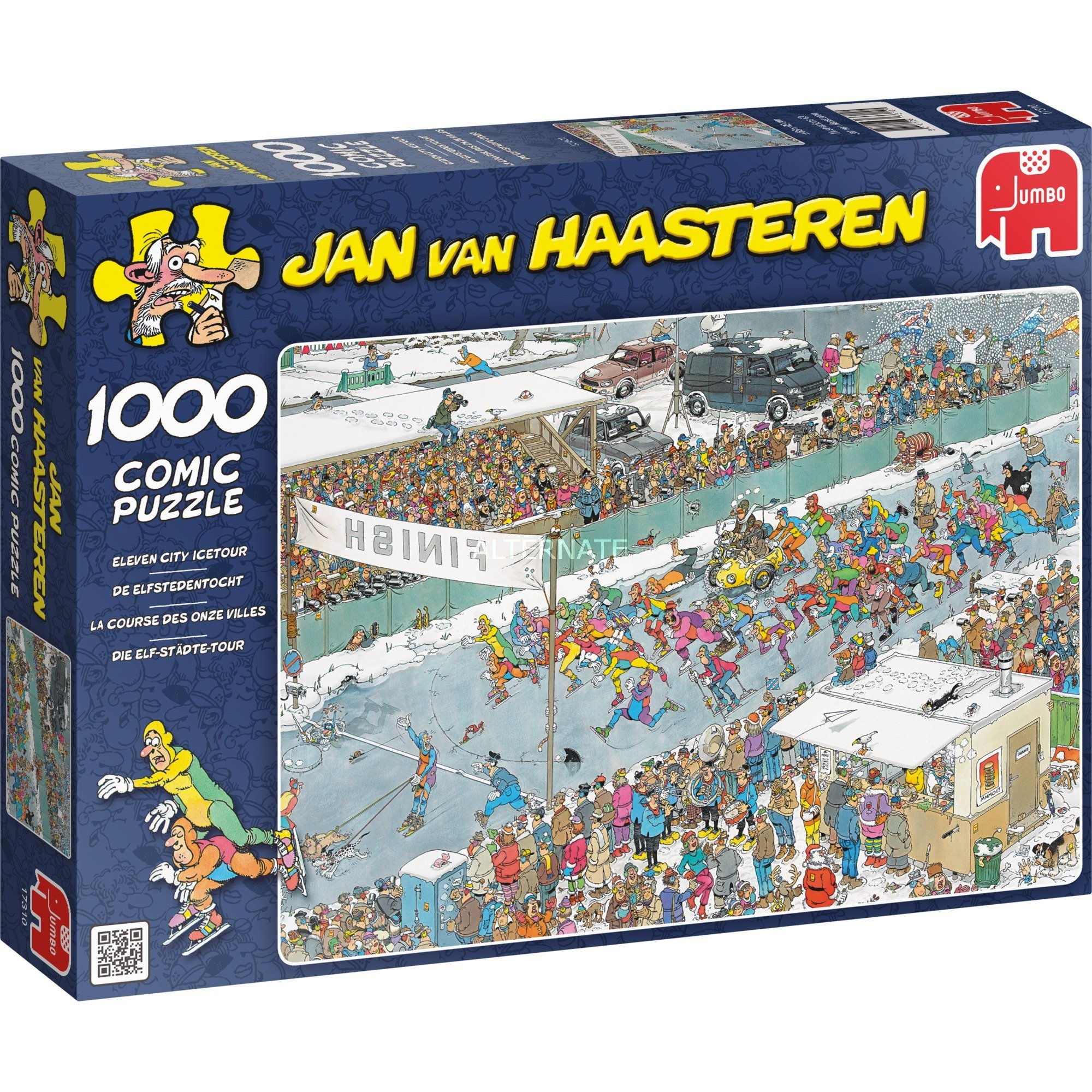 Jan van Haasteren: Puzzle La course des onze villes