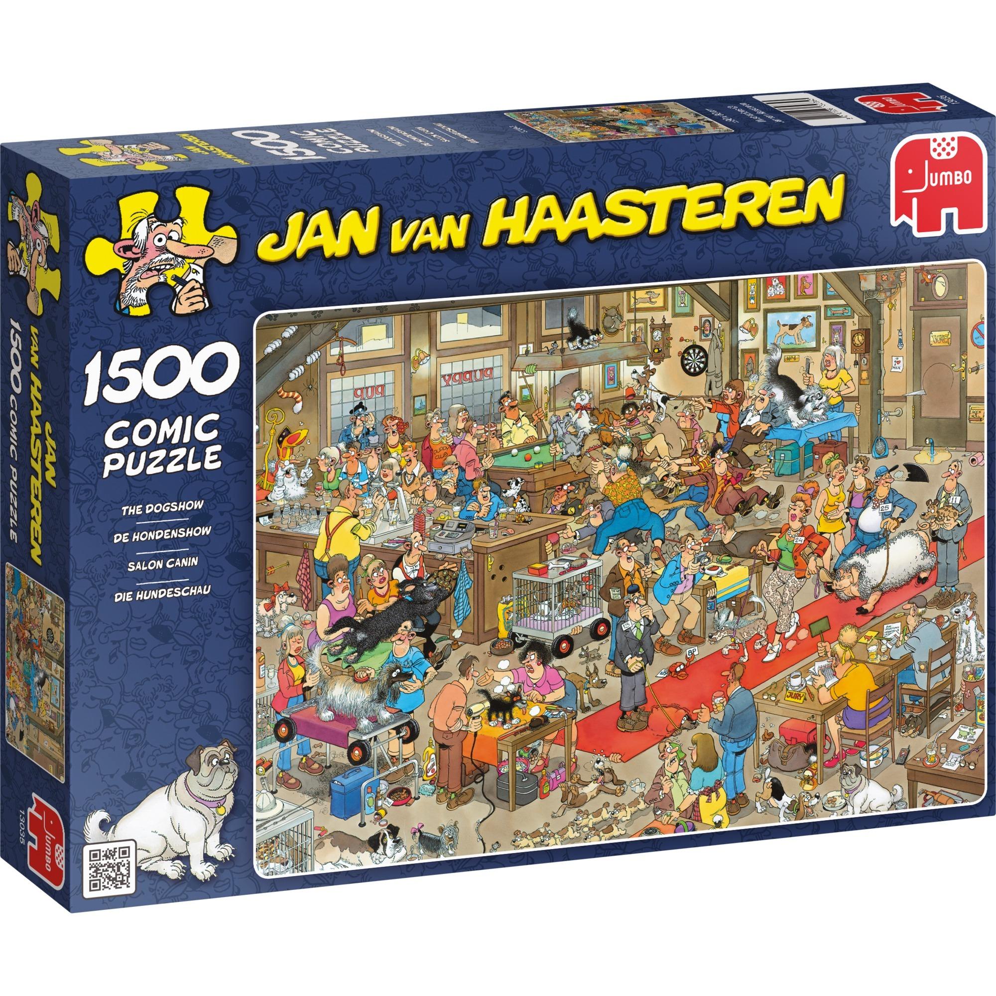 Jan van Haasteren: Puzzle Salon canin