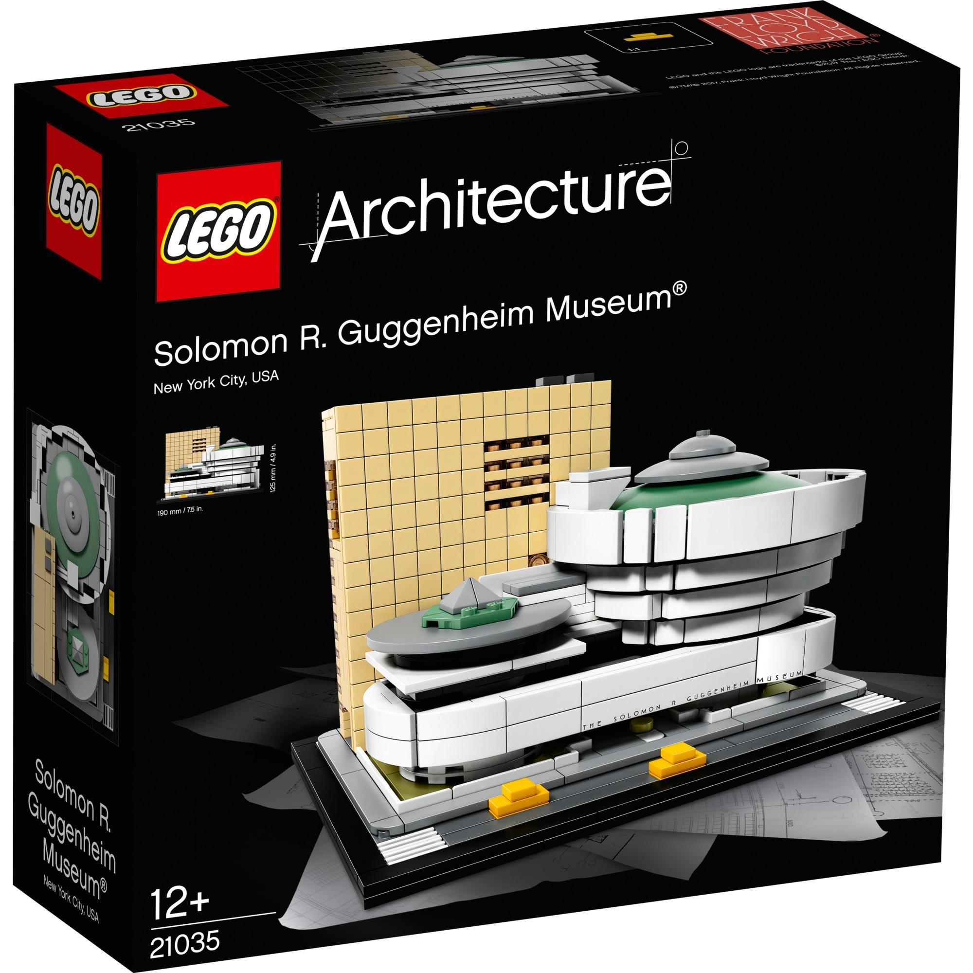 Architecture Solomon R. Guggenheim Museum jeu de construction, Jouets de construction
