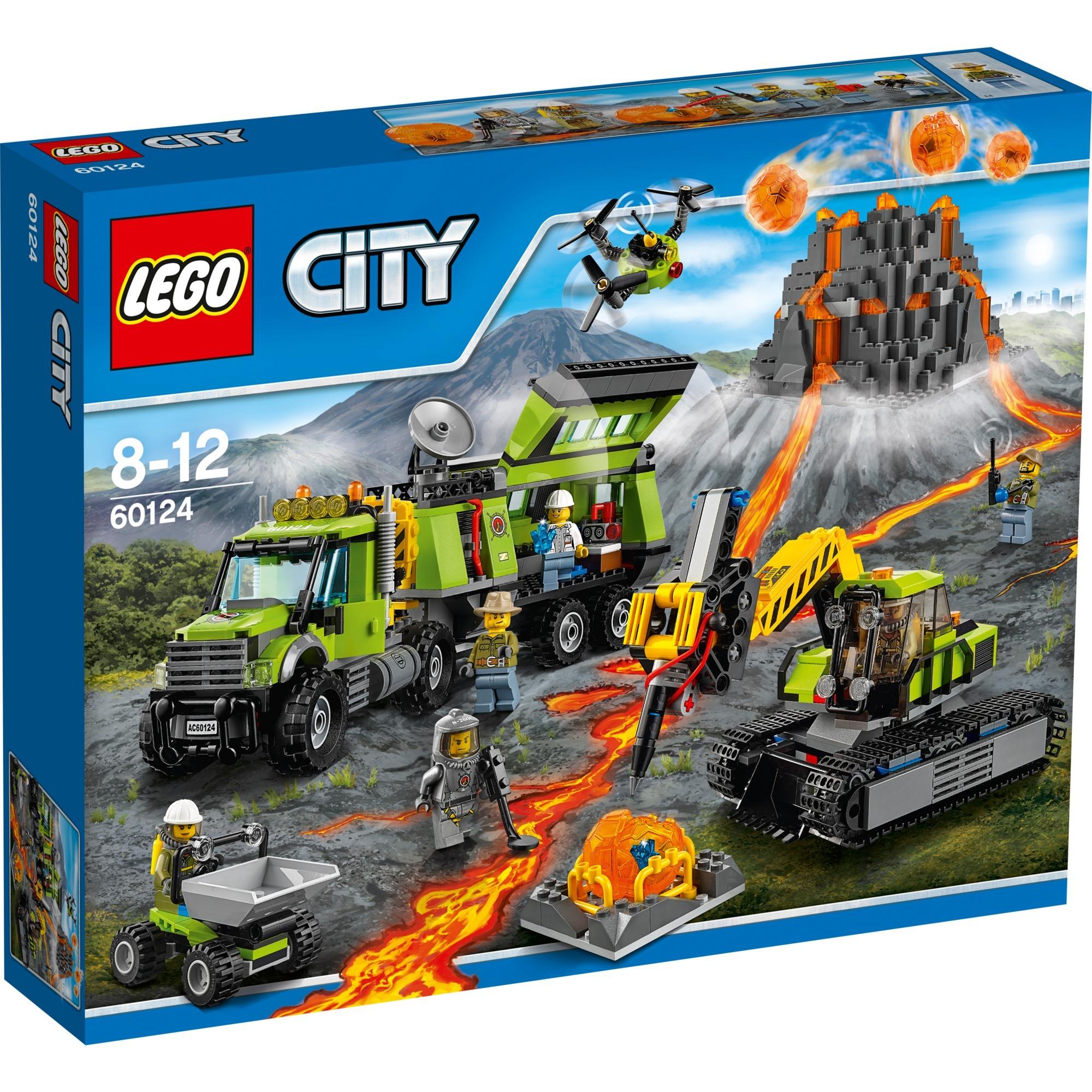 City - La Base D'exploration Du Volcan, Jouets de construction