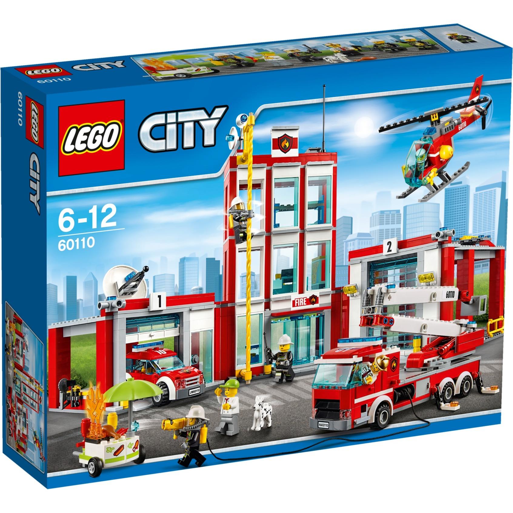City - La Caserne Des Pompiers, Jouets de construction