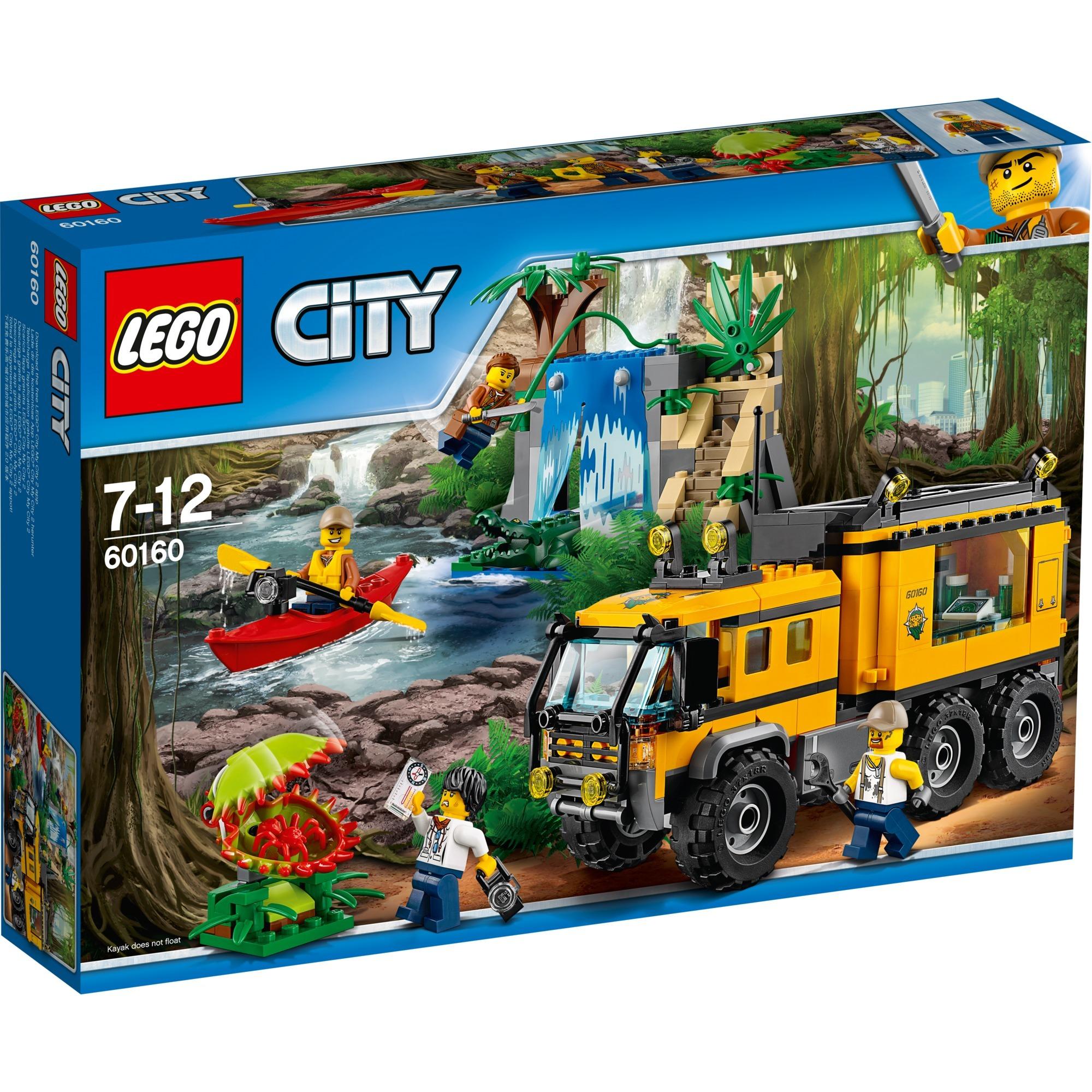 City - Le laboratoire mobile de la jungle, Jouets de construction