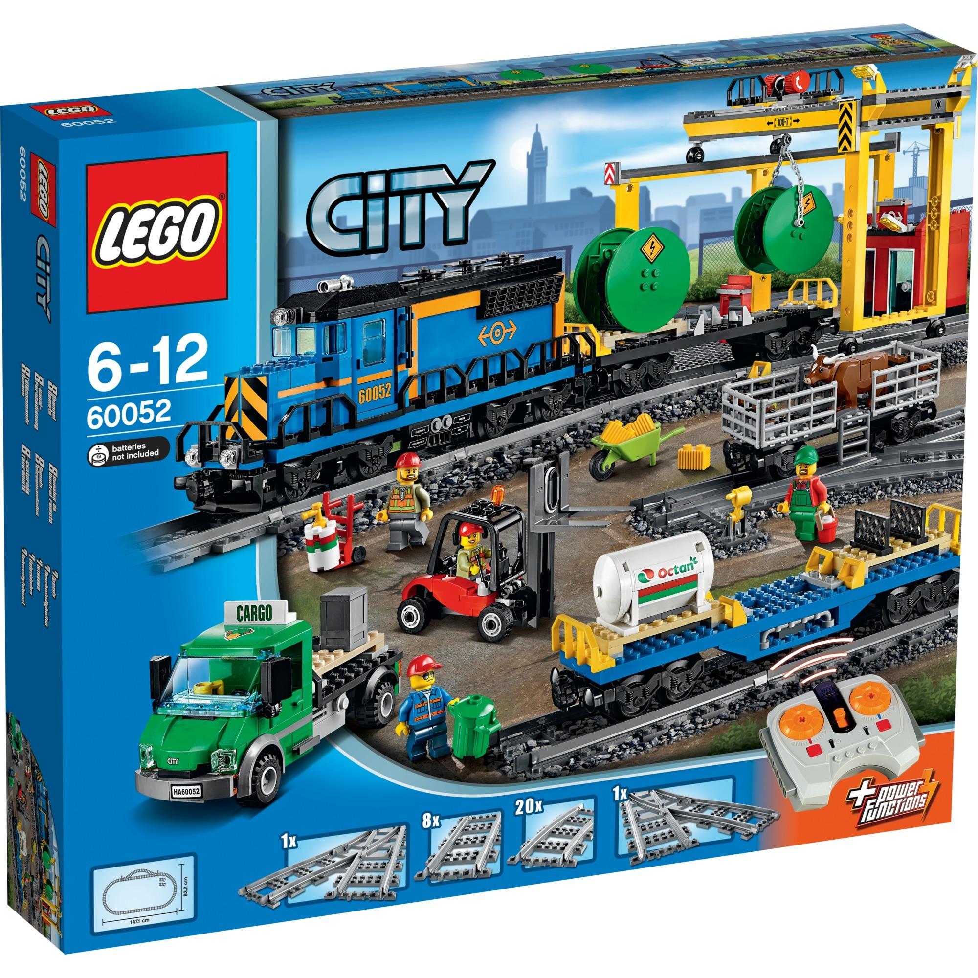 City - Le train de marchandises