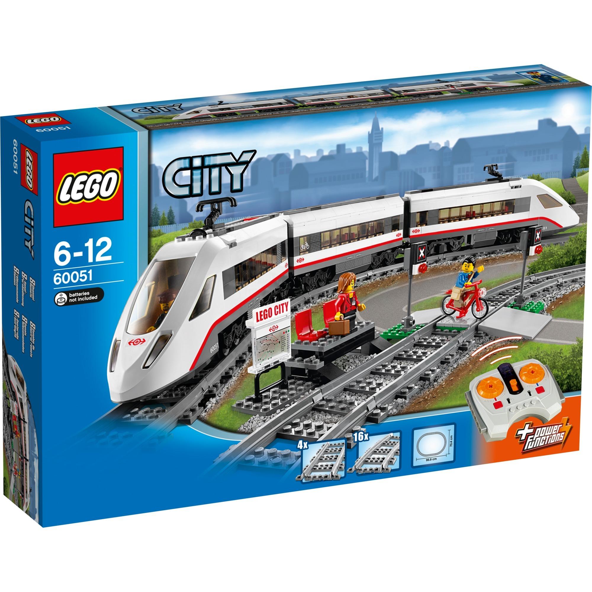 City - Le train de passagers à grande vitesse