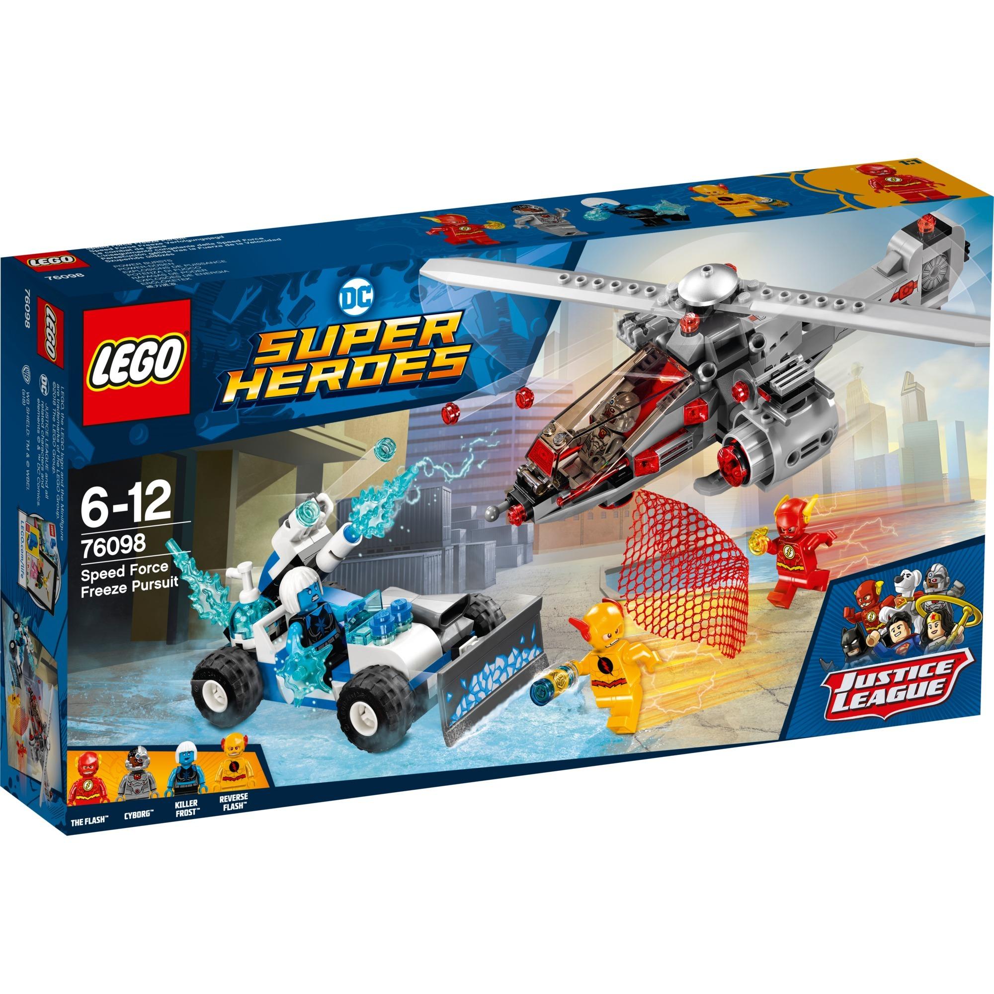 Comics Le Super Dc Heroes Combat GlaceJouets Construction76098 De 8Pk0wnO