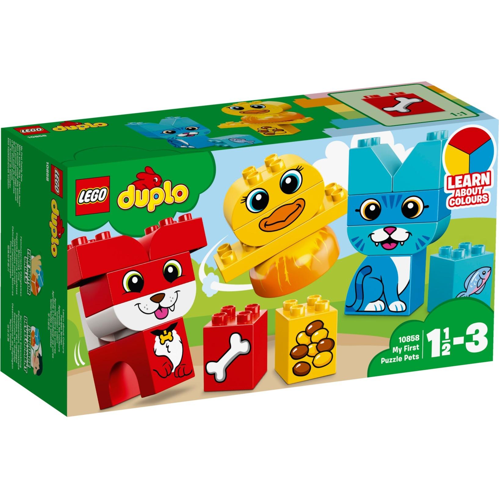 DUPLO 10858 Mon premier puzzle des animaux, Jouets de construction