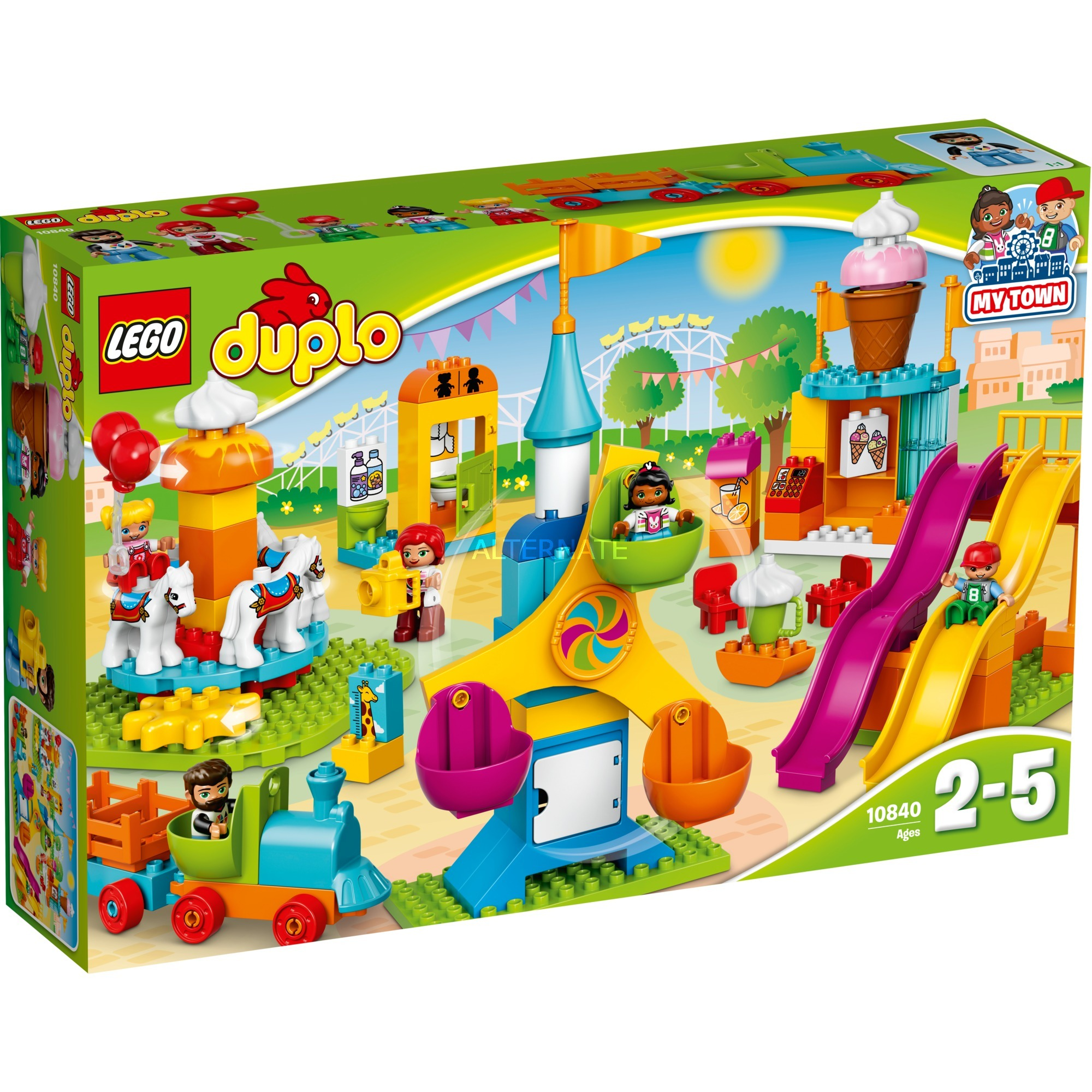 DUPLO - Le parc d'attraction, Jouets de construction