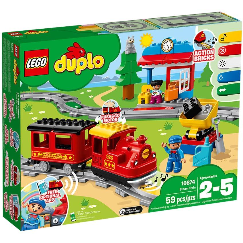 De Train Le À VapeurJouets Construction Duplo lFc3uT1JK