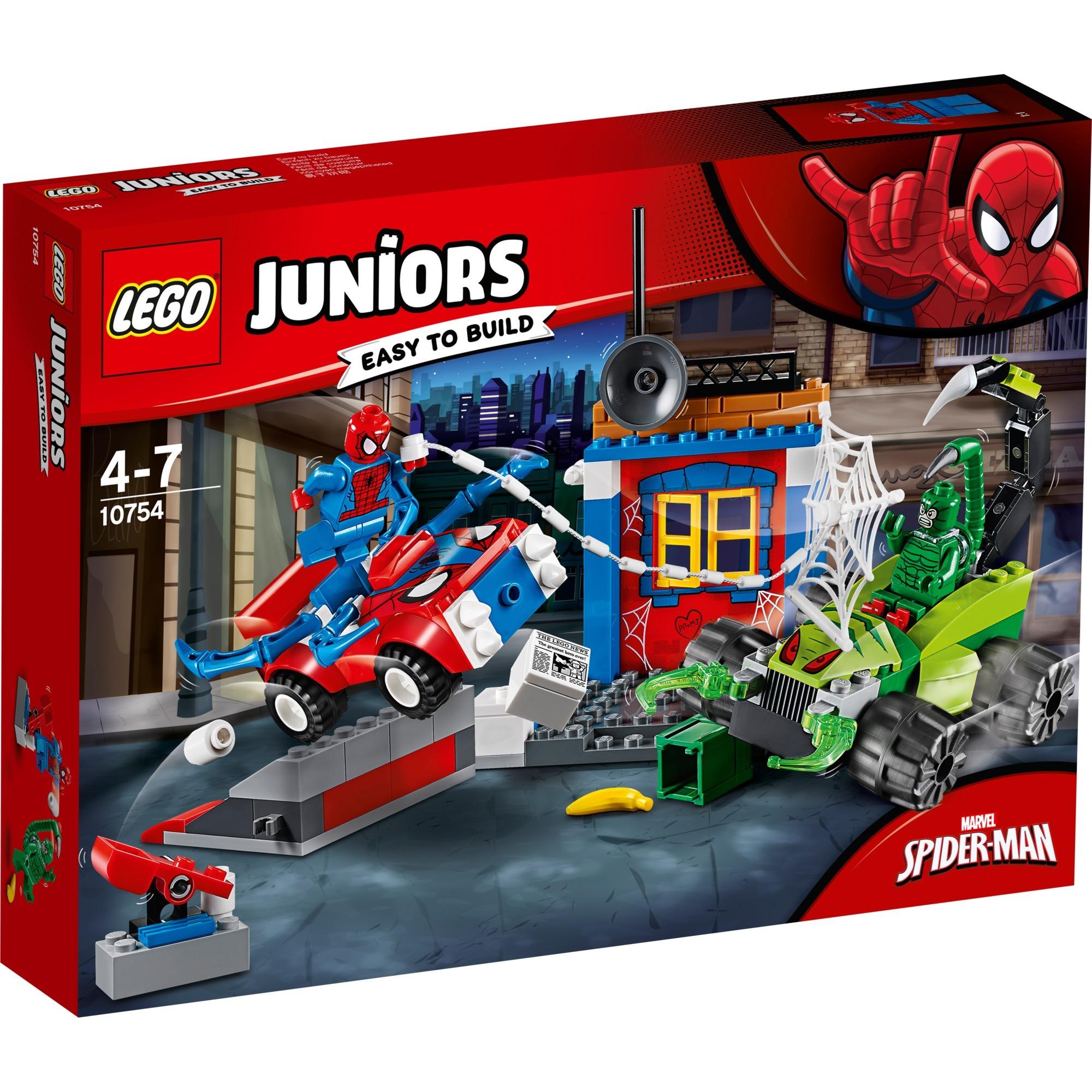 10754 Man Spider Contre ScorpionJouets De Construction Juniors Y76gybfv