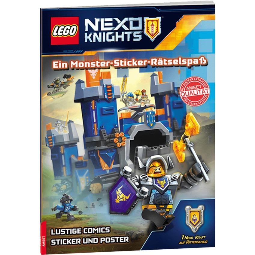 Nexo Knights: Ein Monster-Sticker-Rätselspaß