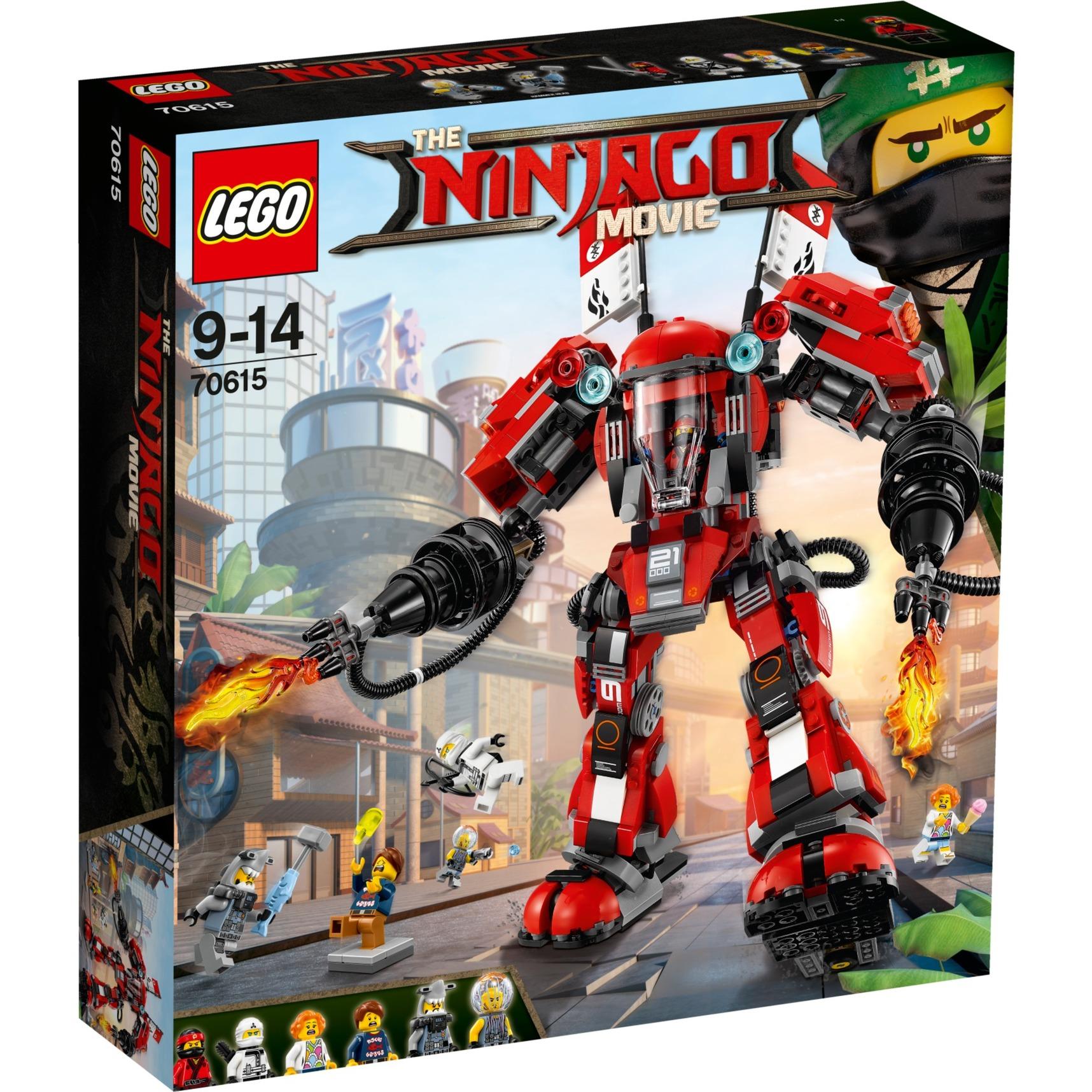 Ninjago - L'Armure de Feu, Jouets de construction