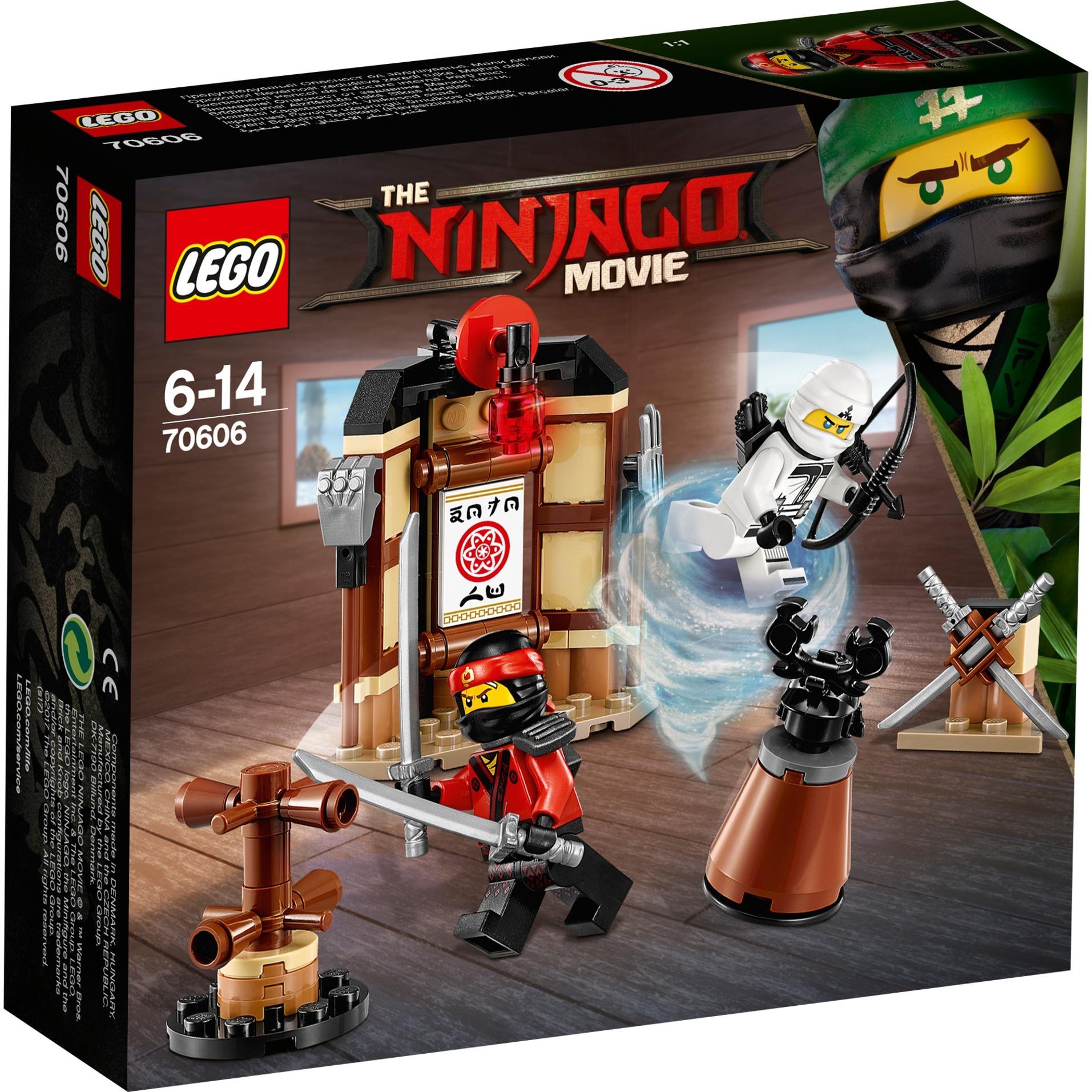 Ninjago - L'entraînement au Spinjitzu, Jouets de construction