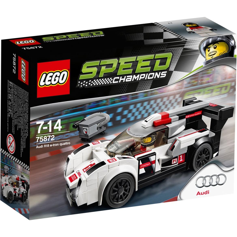 Speed Champions - Audi R18 E-tron Quattro, Jouets de construction