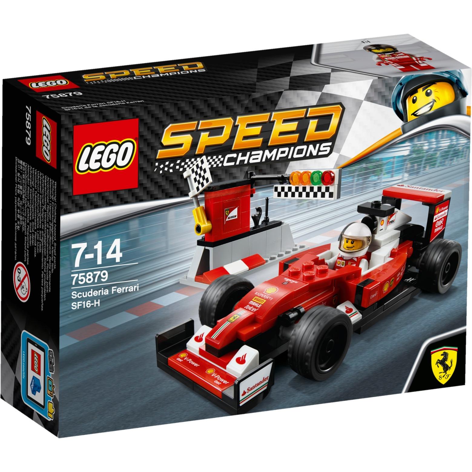 Speed Champions - Scuderia Ferrari SF16-H, Jouets de construction