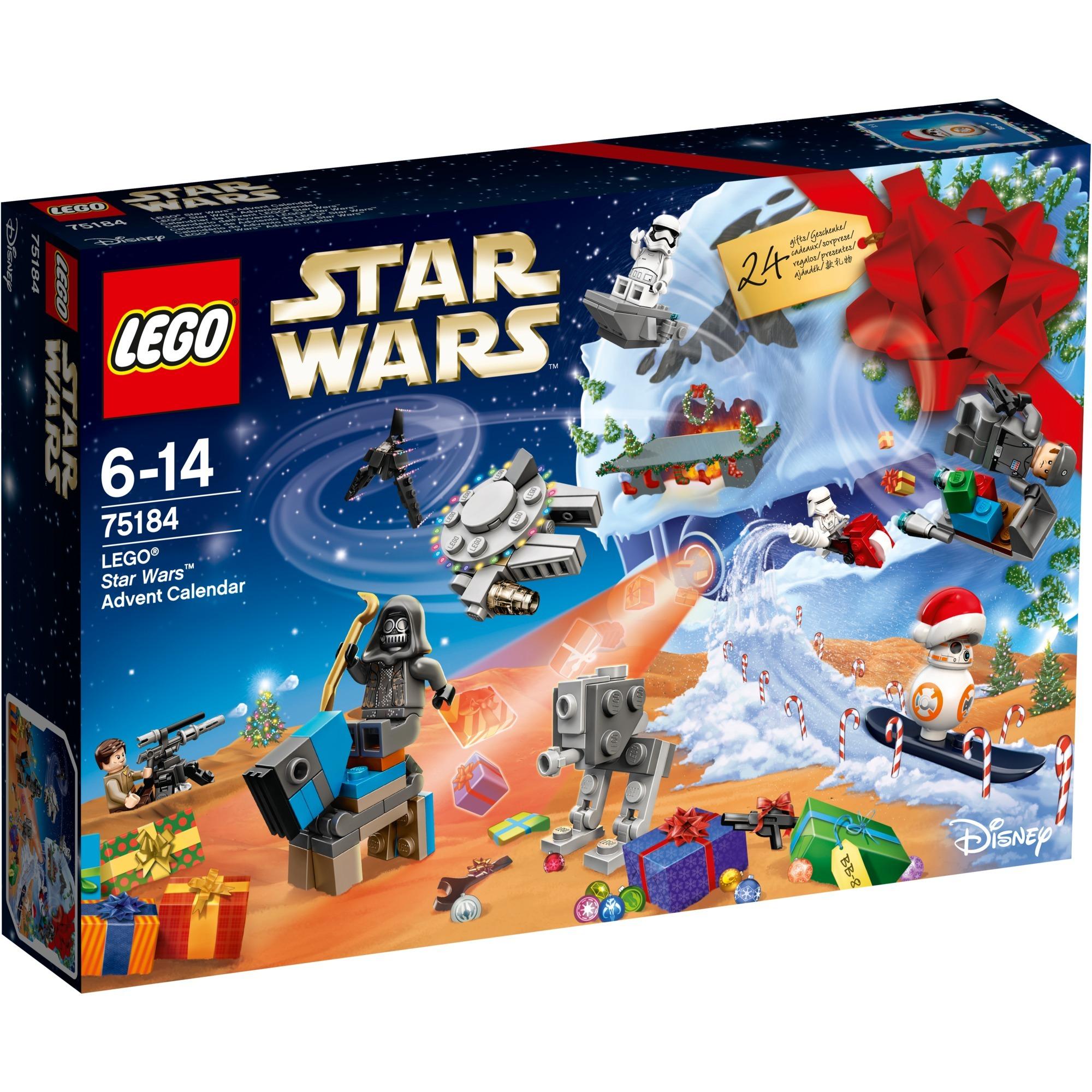 Star Wars - Calendrier de l'avent, Jouets de construction