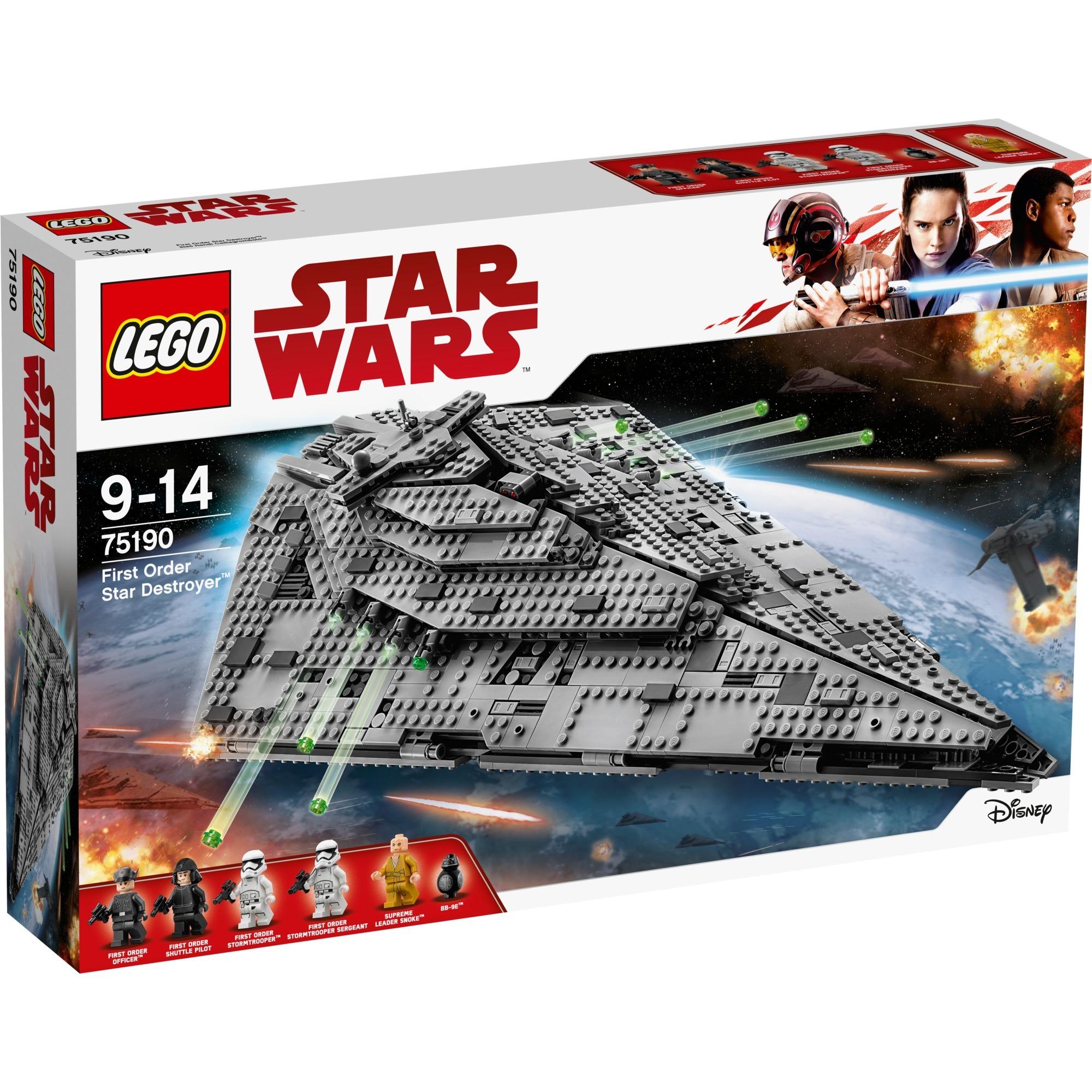 Star Wars - First Order Star Destroyer, Jouets de construction