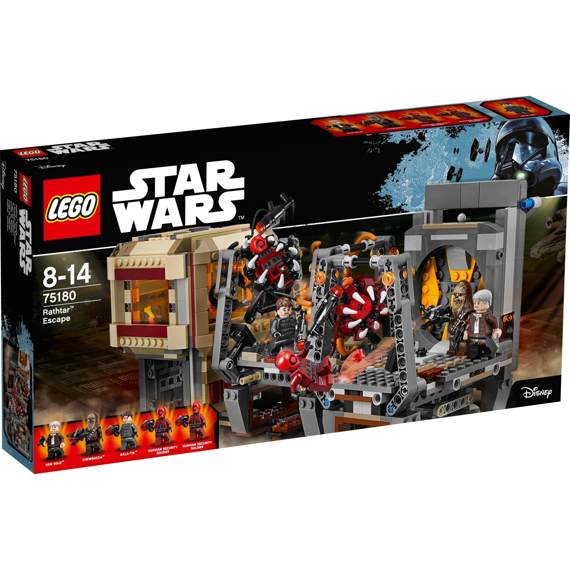 Star Wars - L'évasion des Rathtar, Jouets de construction