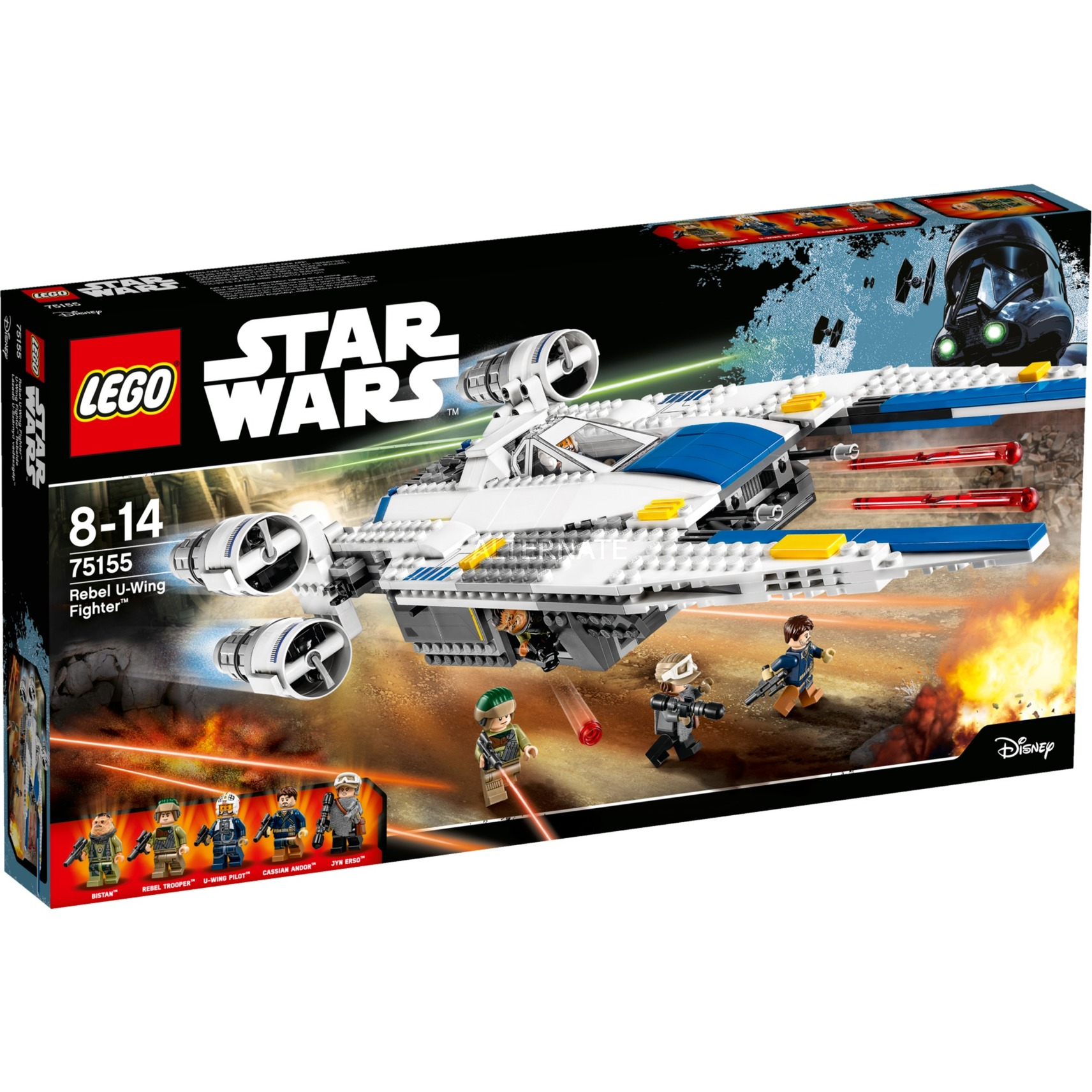 Star Wars - Rebel U-Wing Fighter, Jouets de construction