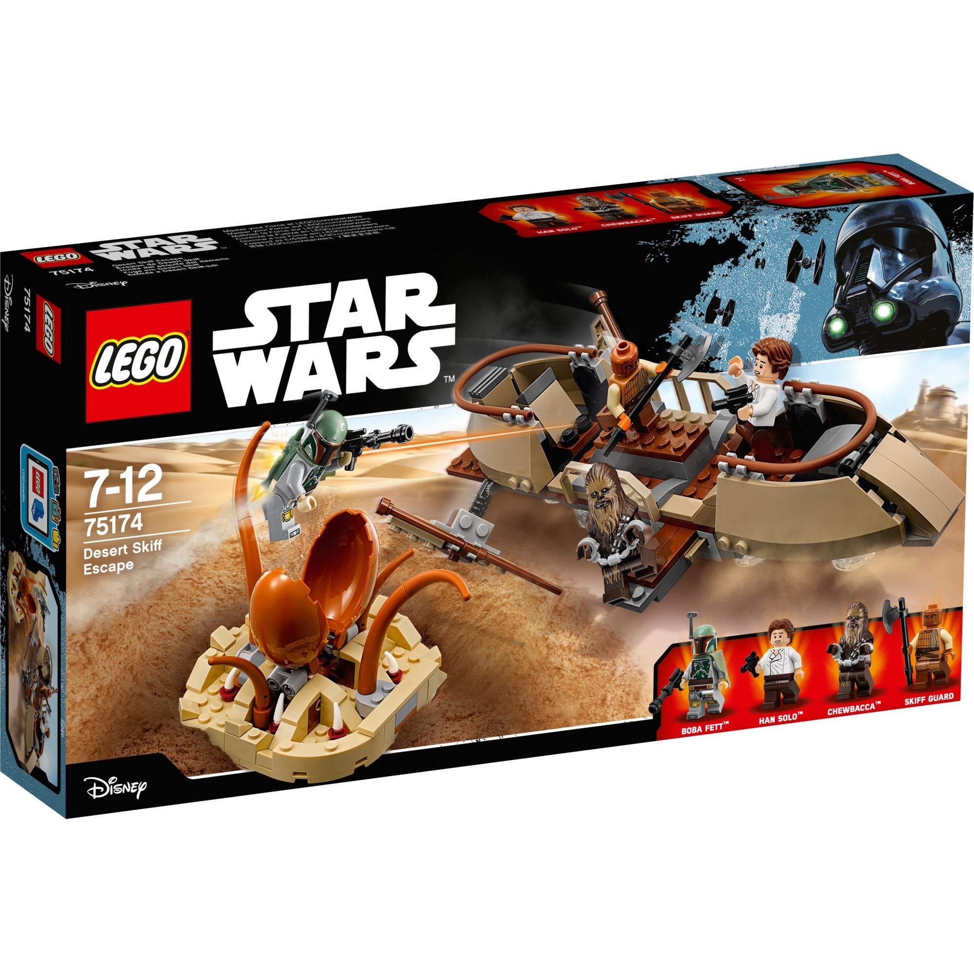 Star Wars - Évasion de Desert Skiff, Jouets de construction