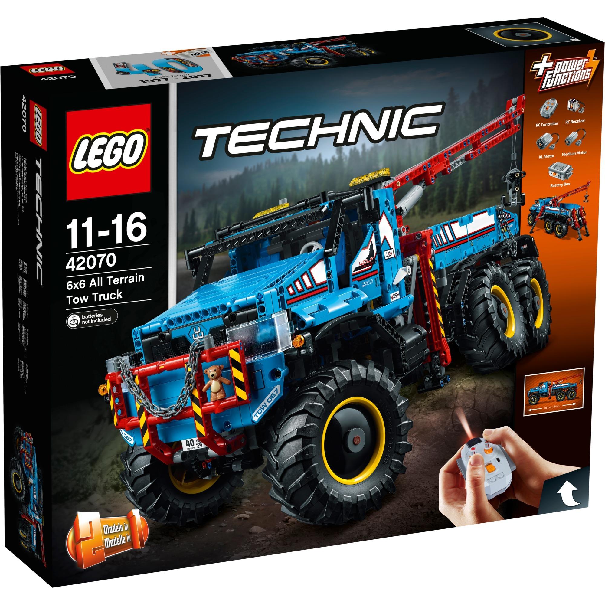 Dépanneuse Technic La Terrain Construction42070 De Tout 6x6Jouets ZNn0wkX8OP