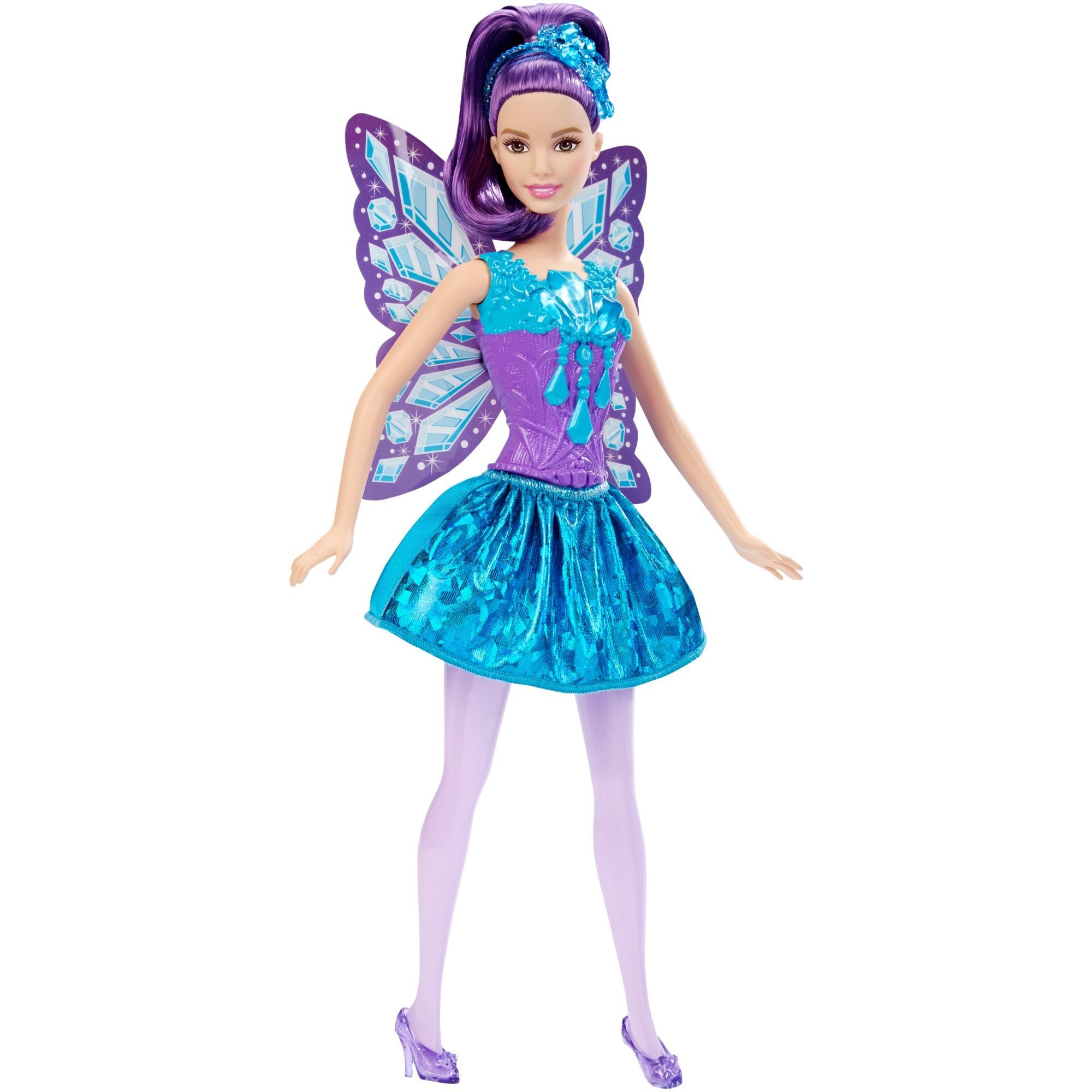 Barbie - Fée - Bijoux - Multicolore, Poupée