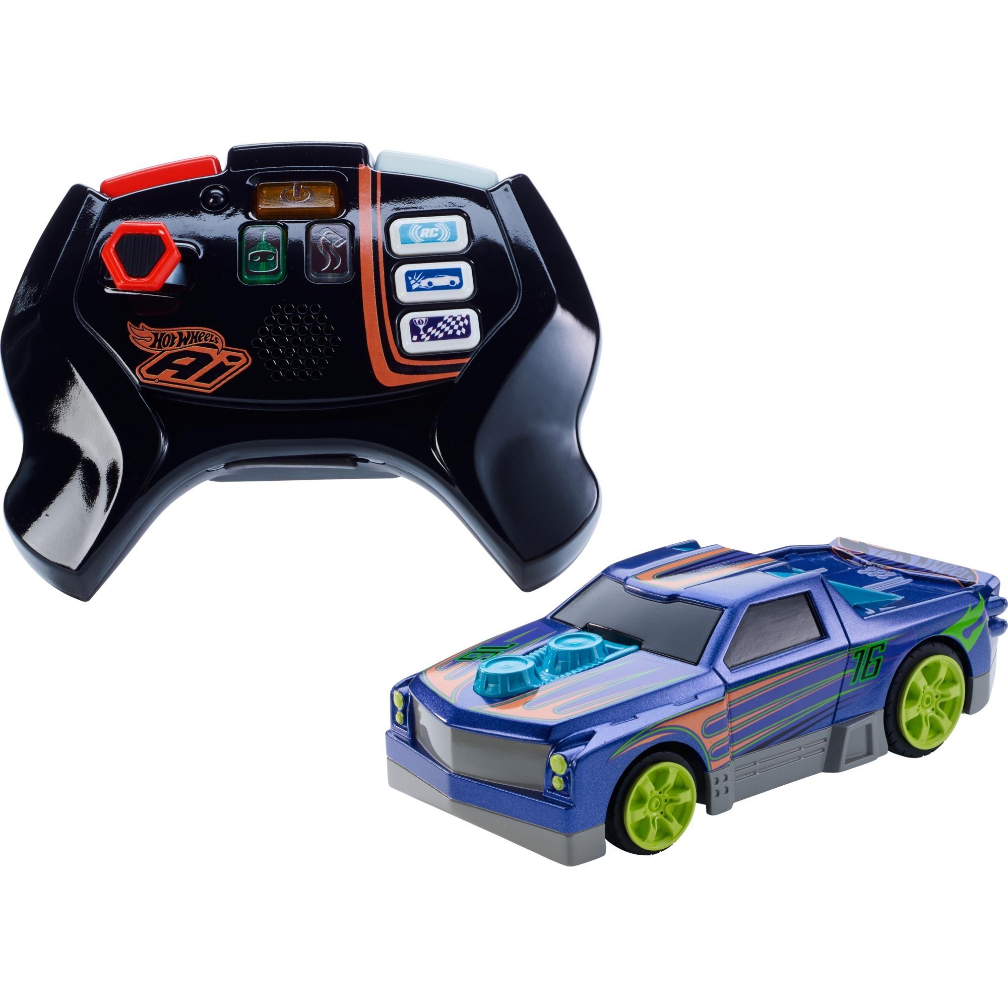 Hot Wheels A.I. Smart Car Turbo Diesel + Controller, Voiture de course