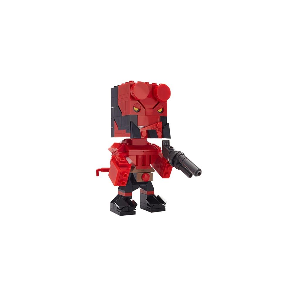 Kubros: Hellboy, Jouets de construction