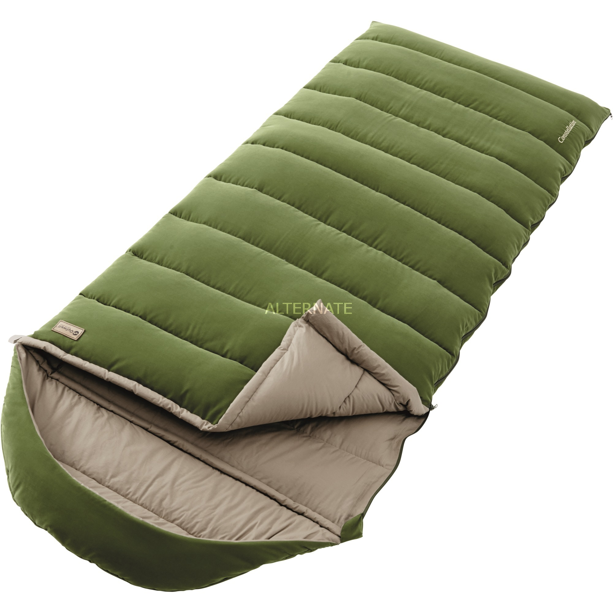 Constellation Rectangular sleeping bag Nylon, Polyester Vert, Sac de couchage