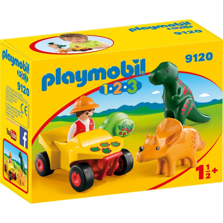 1.2.3 - Explorateur et dinosaures, Jouets de construction