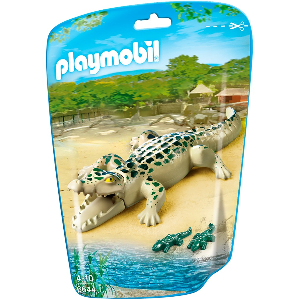 City Life - Alligator avec bébés