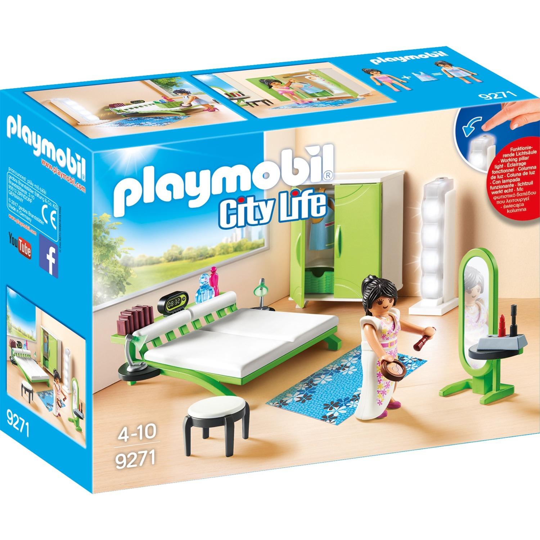 Playmobil City Life Chambre Avec Espace Maquillage Jouets De
